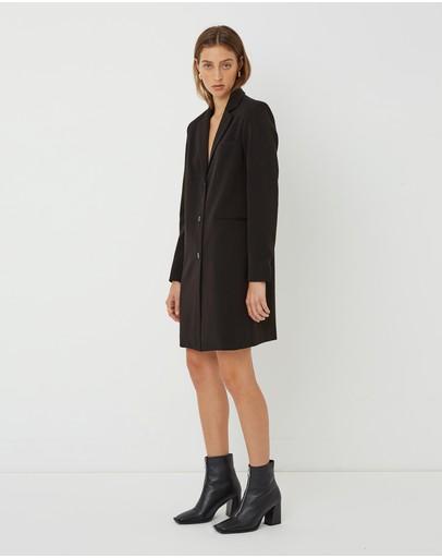 Friend Of Audrey Zane Classic Coat Black