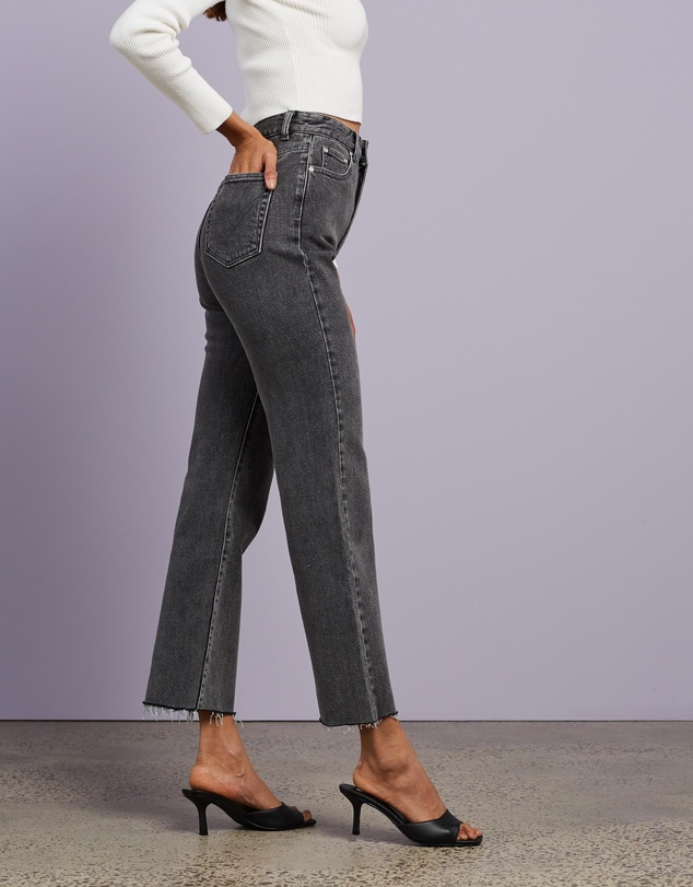 Women Aspen Straight Leg Jeans