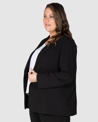 Love Your Wardrobe Andrea Blazer - Suits & Blazers (Black)