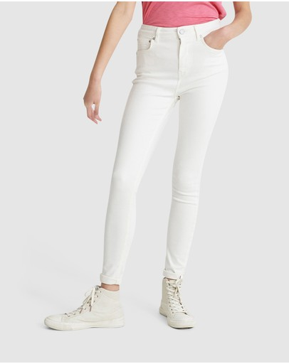 Superdry - High Rise Skinny Jeans