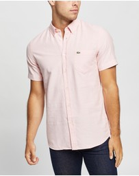 Lacoste - SS Regular Fit Oxford Shirt