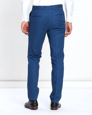 3 Wise Men Huxton Dress Pants - Pants (Blue)