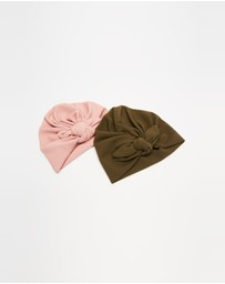 ArchNOllie - Ripple Bow Turban 2-Pack