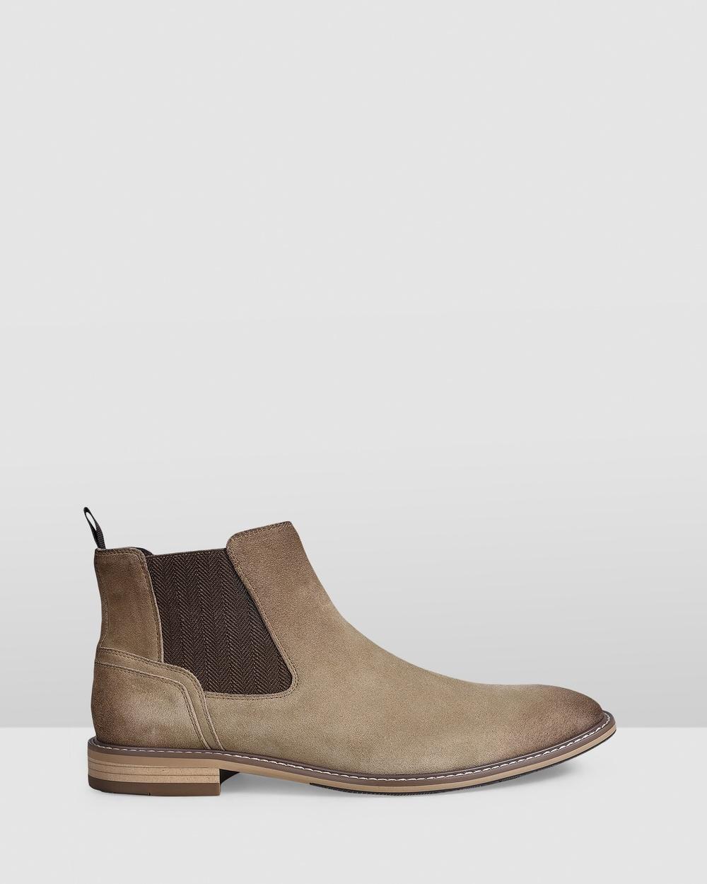 Julius Marlow Brisk Boots Sand Suede