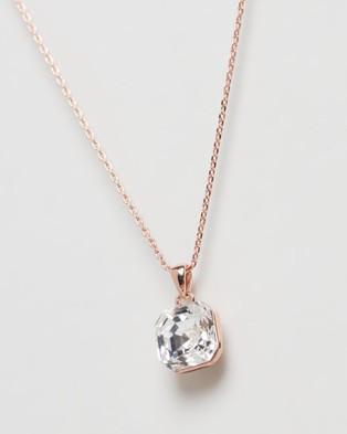 Mestige Jordyn Necklace with Swarovski?« Crystals - Jewellery (Rose)