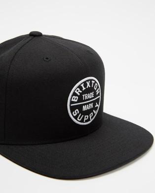Brixton Oath III Snapback - Headwear (Black)