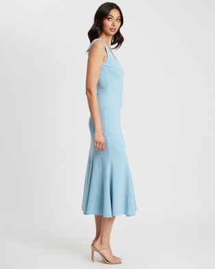 CHANCERY - Surie Midi Dress - Bridesmaid Dresses (Powder Blue) Surie Midi Dress