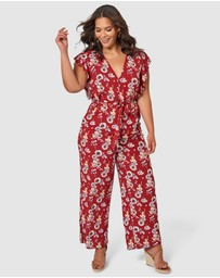Something 4 Olivia - Isabella Floral Jumpsuit
