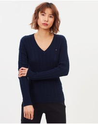 Tommy Hilfiger - Classic Cable V-Neck Knit