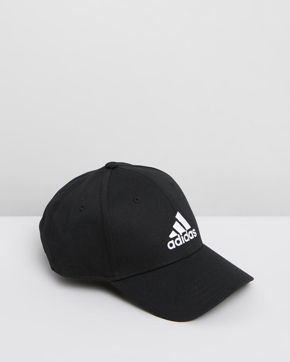 adidas Performance Baseball Training Cap Unisex Headwear Black, Black & White