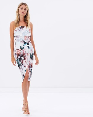 Cooper St – Regal Opulence Front Pleat Dress – Dresses (Print)