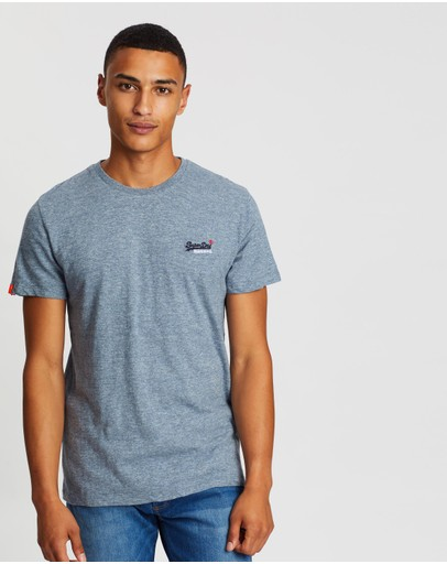 Superdry - Orange Label Vintage Embroidery Tee