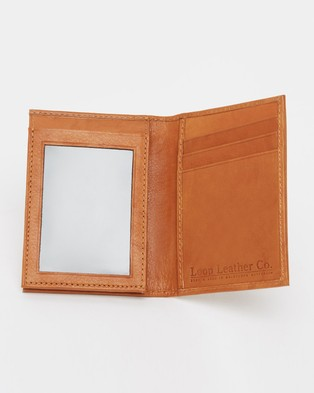 Loop Leather Co Old Bill - Wallets (Mid Tan)