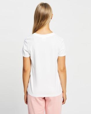 Bonds - Light V Tee - T-Shirts & Singlets (Nu White) Light V Tee
