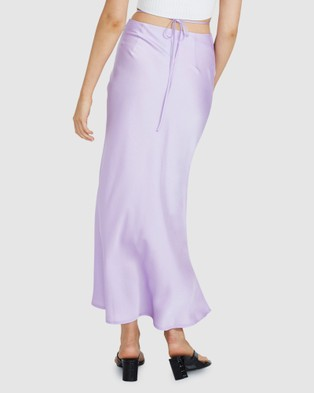 Alice In The Eve Piper Strappy Maxi Skirt - Skirts (LILAC)