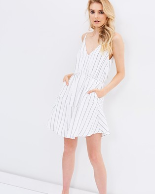 Atmos & Here – Eden Swing Dress – Dresses (Stripe)