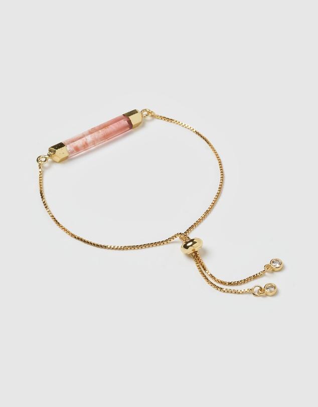 Women Faceted Stone Bracelet