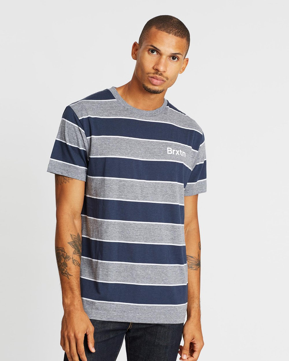 Men/'s Brixton Basic Pocket Short-Sleeve T-Shirt