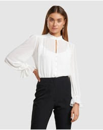 Forever New - Xanna Sheer Blouse