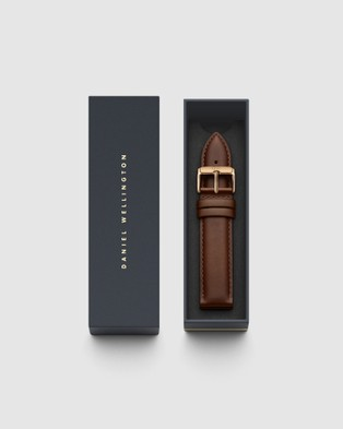 Daniel Wellington Leather Strap Petite 16 St Mawes Watch Band   For Petite 36mm - Watches (Rose gold)