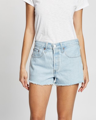 Levi's 501 Original Shorts - Denim (Luxor Chill)