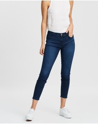 J Brand - 835 Mid-Rise Crop Skinny Jeans