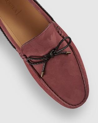 Aquila Fiorano Driving Shoes - Dress Shoes (BORDO)