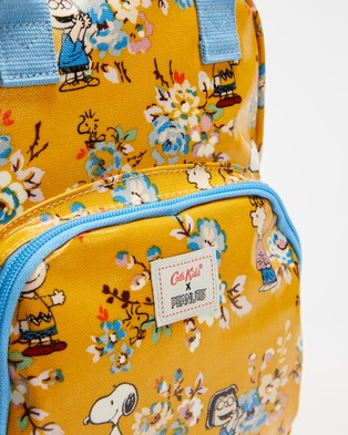 Cath Kidston Medium Peanuts Backpack   Kids - Backpacks (Mustard Peanuts)