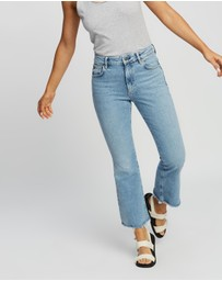 AllSaints - Daisy High-Rise Kick Flare Jeans