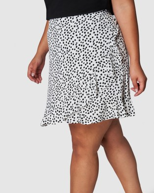 Sunday In The City Maze Skirt - Skirts (WHITE)