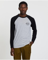 Mons Royale - Icon Raglan Long Sleeve Tee