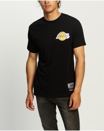 Mitchell & Ness - Lakers Retro Repeat SS Tee