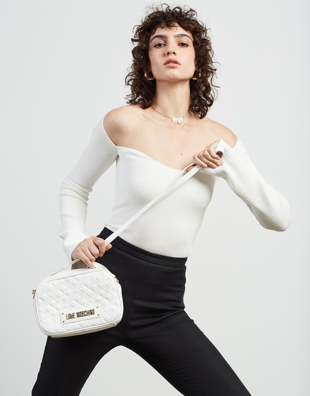 Women Quilted Soft Cross-Body Bag