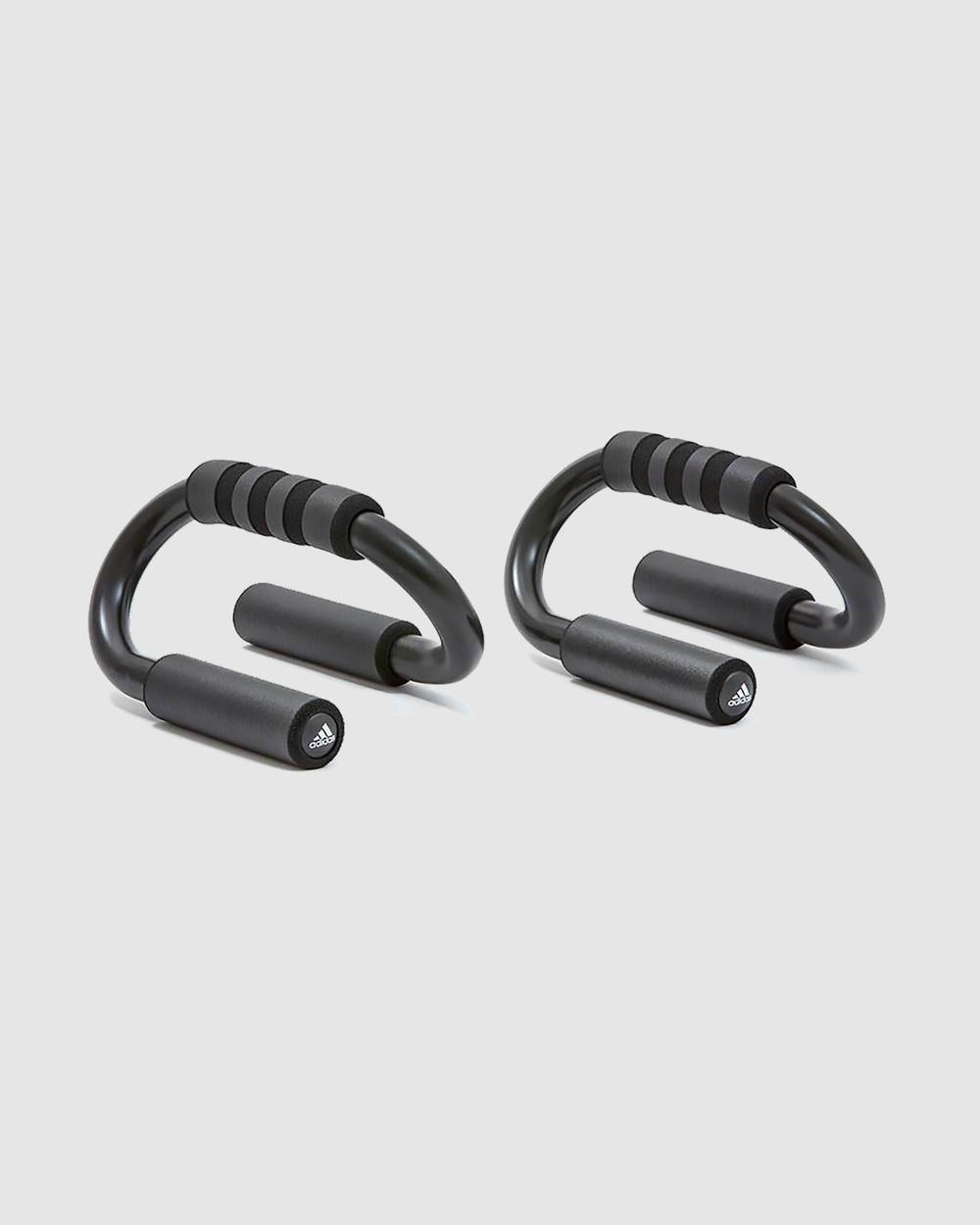 Adidas Push Up Bars Training Equipment Grey Australia