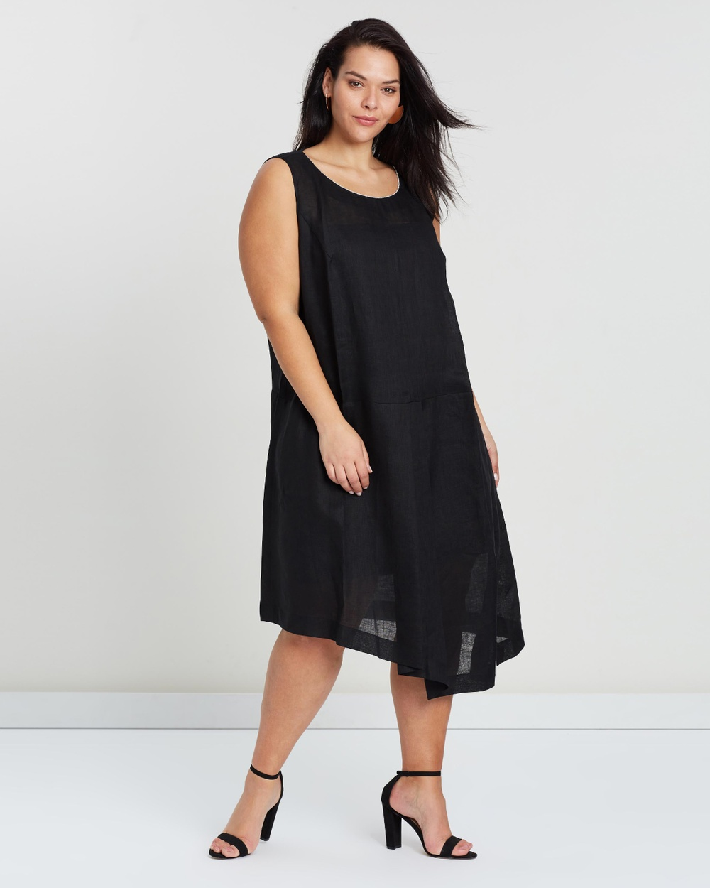Persona by M.Rinaldi Dialogo Dress Dresses Nero Dialogo Dress