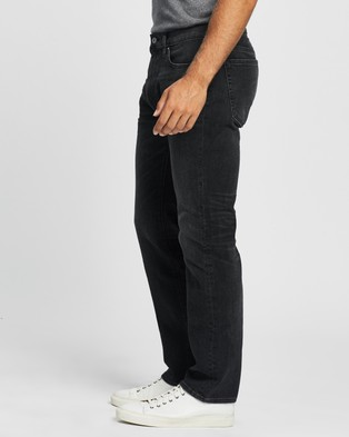 Abercrombie & Fitch Straight Jeans - Jeans (Washed Black)