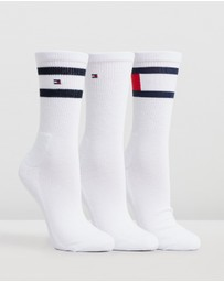 Tommy Hilfiger - 3-Pack Wrap Flag Socks
