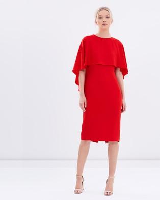 Carla Zampatti – Cloud Nine Dress – Dresses (Red)