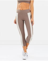 Running Bare - HR Body Double 7/8 Tights
