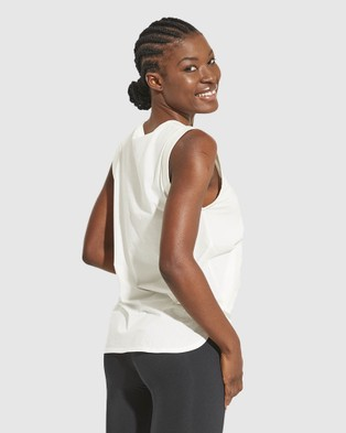 Dharma Bums Intuition Tank - T-Shirts & Singlets (White)