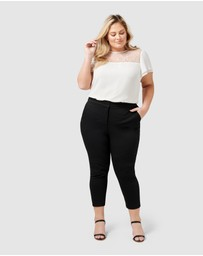 Forever New Curve - Audrey High Waist Curve Pants