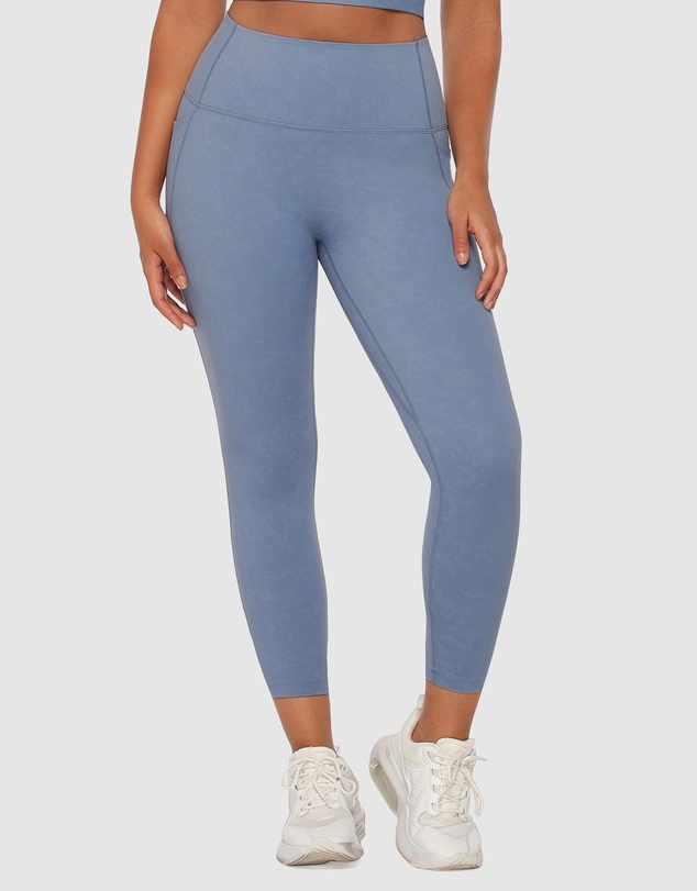 Lorna Jane - Hi-Fold No Ride Ankle Biter Leggings