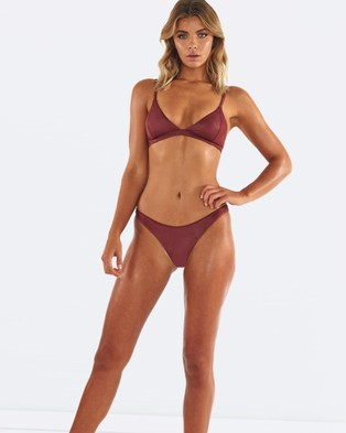L'urv – Untamed Bikini Bottoms – Bikini Bottoms (Red)