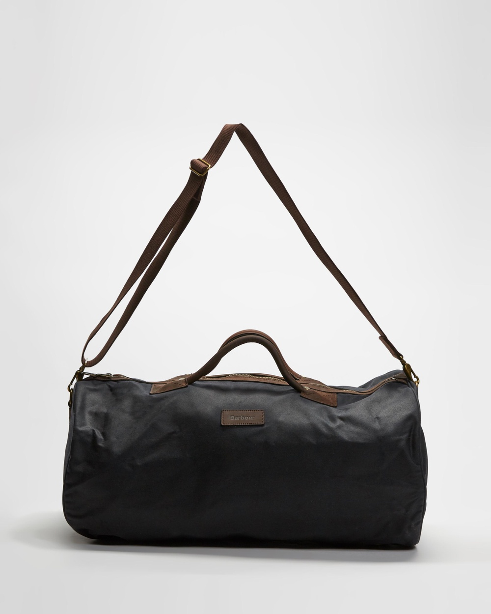 Barbour Wax Holdall Duffle Bags Navy