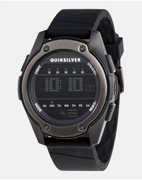 Quiksilver - Mens Stringer 46mm Digital Silicone Watch
