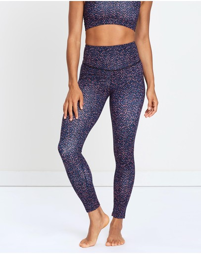 The Happy People Co. Long Beach Leggings Twilight