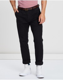 Scotch & Soda - Stuart Classic Garment Dyed Chinos