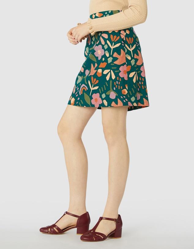 Women Hazel Geo Skirt