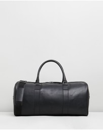 Double Oak Mills - Teddy Leather Weekender