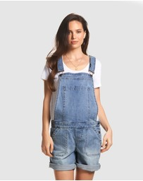 Soon Maternity - Alice Denim Playsuit